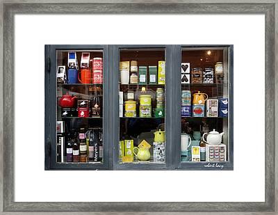 Tea Shop Framed Print by Robert Lacy
