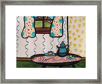 Tea Time Framed Print by John Williams