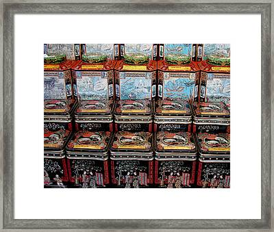Tea Time Framed Print by Tony Grider