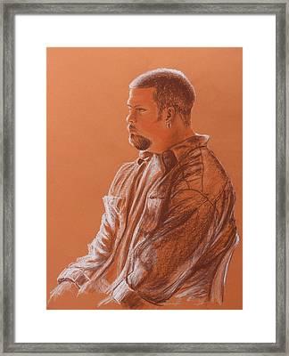 Teacher's Son Framed Print by Kume Bryant