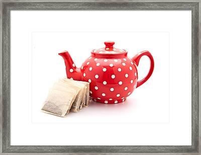Teapot Framed Print by Tom Gowanlock