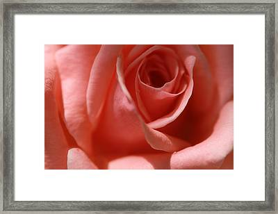 Tear Drops Framed Print