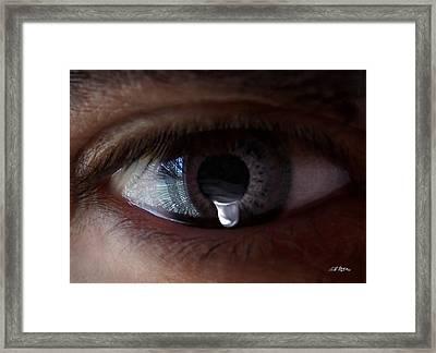 Tear Of The Soul Framed Print