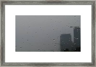 Tears Of The City Framed Print by Hope Williamson