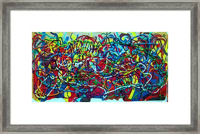 Techno Biological Mutation  Framed Print by Boaz Klachkin