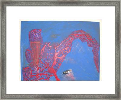 Technology Welcomes The Dreamer Framed Print by Harry  Nash