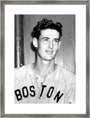 Ted Williams, 1941 Framed Print by Everett
