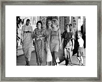 Teenagers In Los Angeles Model Framed Print by Everett