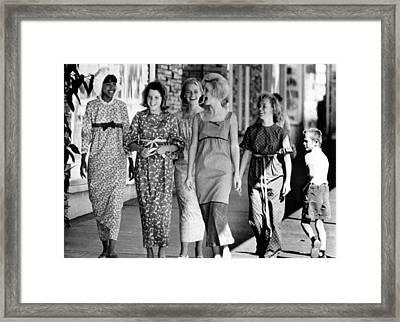 Teenagers In Los Angeles Model Framed Print by Everett