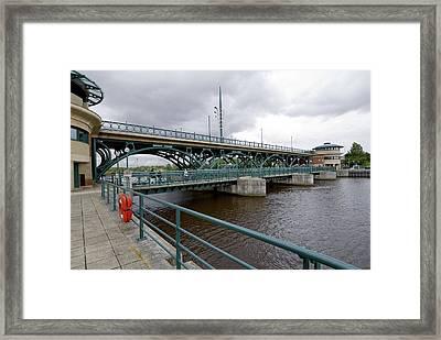 Tees Barrage Framed Print