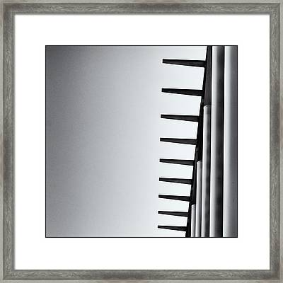 Teeth Framed Print by Onder Konuralp