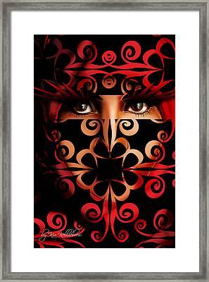 Tehran Framed Print by Kia Kelliebrew