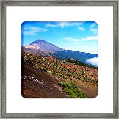 Teide Framed Print
