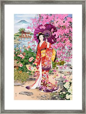 Teien Framed Print by Haruyo Morita