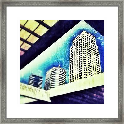Tel Aviv How High Can We Go ? #sky #tlv Framed Print