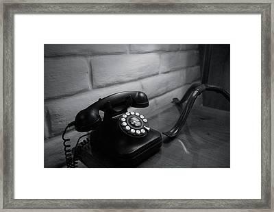 Telecommunications Framed Print by Dietrich Sauer