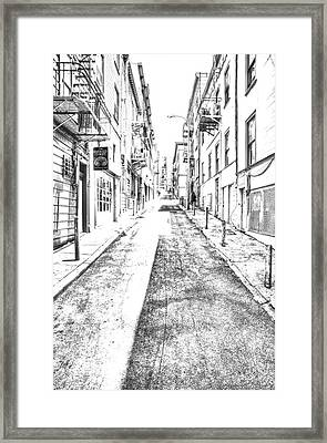 Telegraph Hill Framed Print