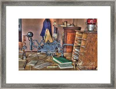 Telegraph Office At Kelso Framed Print by Bob Christopher