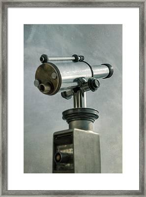 Telescope Framed Print by Joana Kruse
