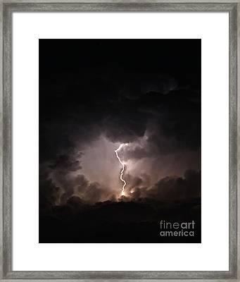 Tempest Framed Print by Billie-Jo Miller
