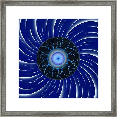 Tempest. Framed Print by Kenneth Clarke