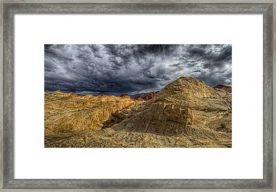 Tempest Framed Print by Stephen Campbell