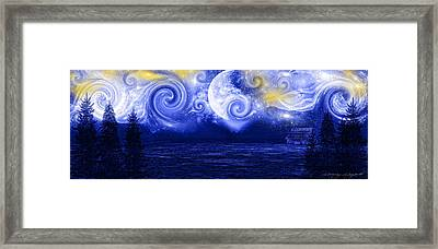 Tempestuous Night Framed Print by Lourry Legarde