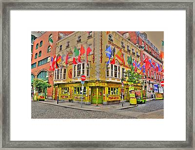 Temple Bar Framed Print by Barry R Jones Jr