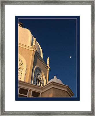 Temple Is Listeneng Framed Print by Alexey Dubrovin