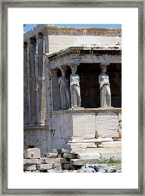 Temple Of Athena Framed Print