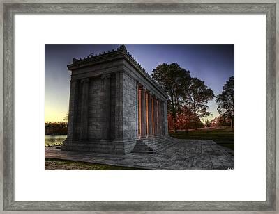 Temple Of Music At Sunrise 2 Framed Print