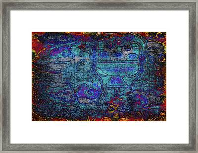 Temple Tapestry Framed Print