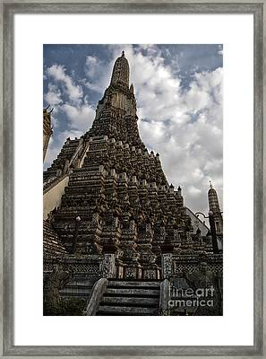 Temple Tower Framed Print