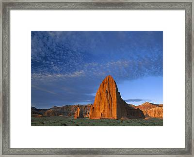 Temples Of The Sun And Moon Framed Print by Tim Fitzharris
