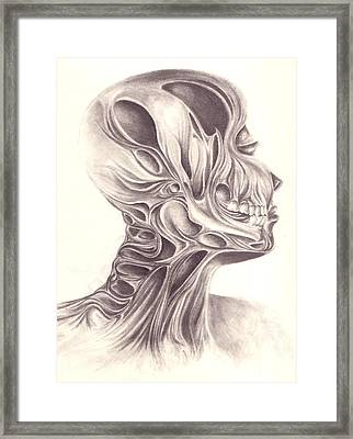 Temporal Framed Print by Arika Gloud