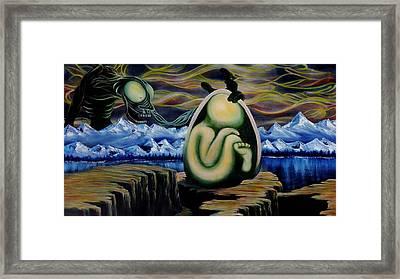 Temptation A La Fetus Framed Print by Ben Christianson