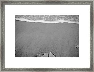 Ten  Framed Print by Betsy Knapp