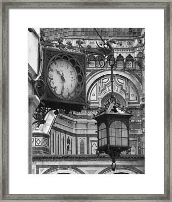 Framed Print featuring the photograph Ten Thirty by Ramona Johnston