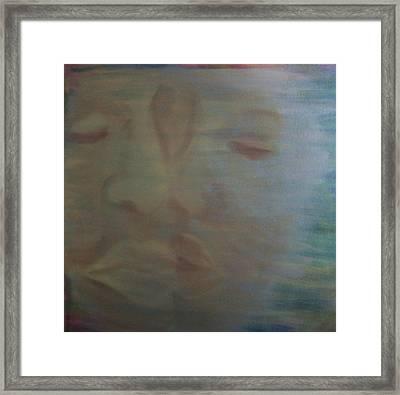 Tender Kiss Framed Print by Susan Saver