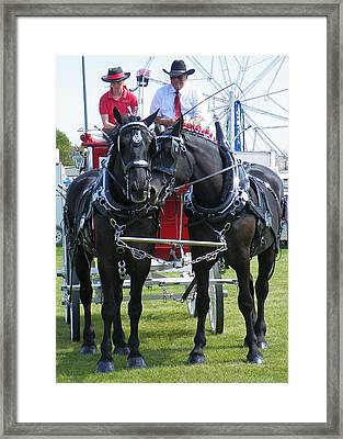 Framed Print featuring the photograph Tender Moment by Davandra Cribbie