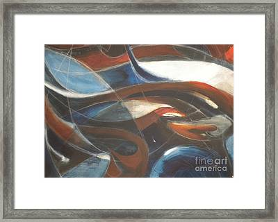 Tendrils Framed Print