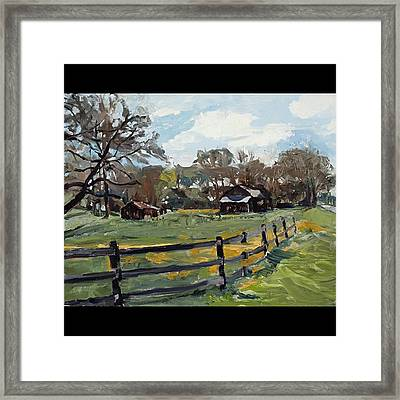 Tennesee Back Road Framed Print