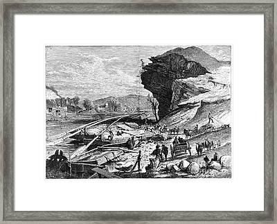 Tennessee: Chattanooga Framed Print by Granger