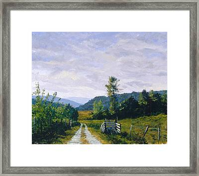 Tennessee Farm Framed Print by Mark Lunde
