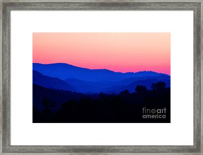 Tennessee Sunset Framed Print by EGiclee Digital Prints