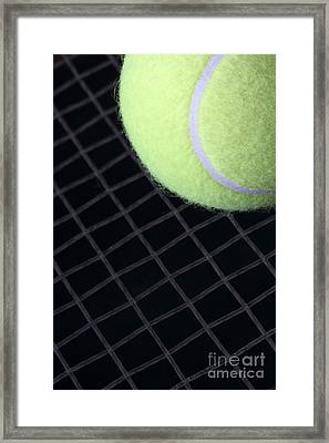 Tennis Anyone Framed Print by John Van Decker