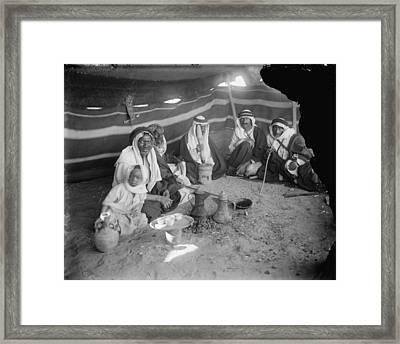 Tent At Locust Killers Camp Framed Print by Everett