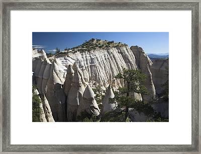 Tent Rocks National Monument Framed Print