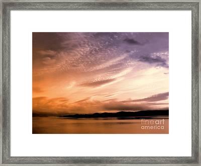 Tequila Sunrise Framed Print