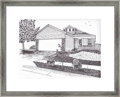Teresa's House Framed Print